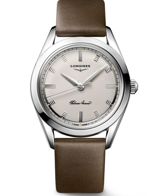 Longines Silver Arrow watch