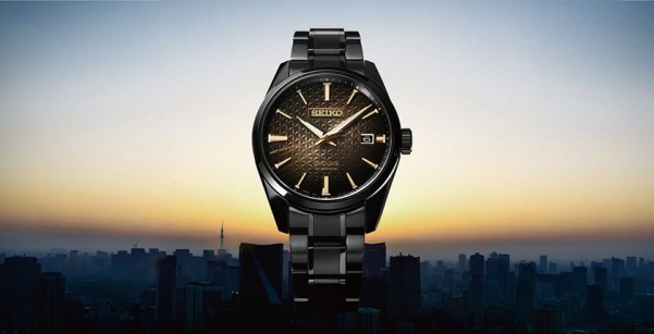 Seiko Presage Sharp Edged Series automatic watch, Reference SPB205: Inspired by the Tokyo dawn