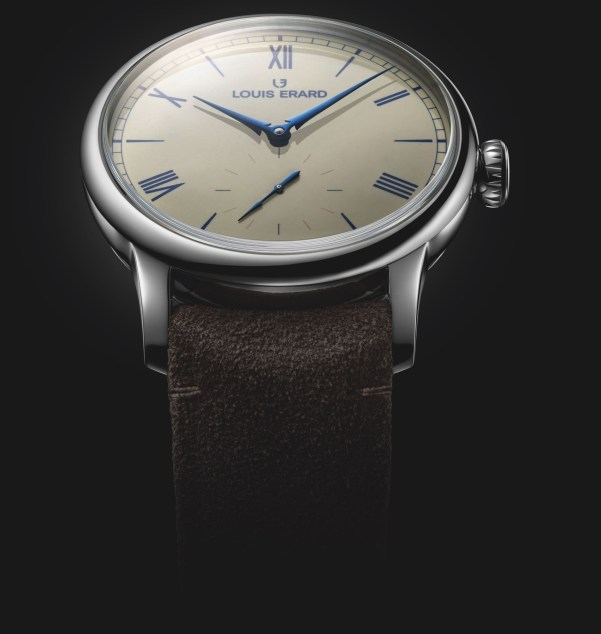 Louis Erard Excellence Émail Grand Feu Small Seconds Limited Edition