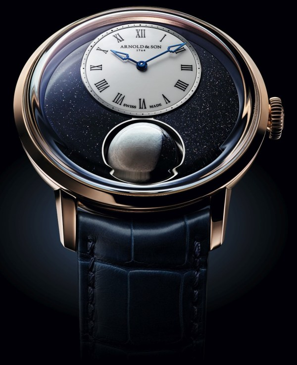 Arnold & Son Luna Magna Limited Edition watch with 3d moonphase
