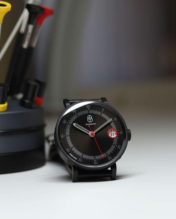 BOHEMATIC GRAPHIC SUTNAR watch made in Czech republic