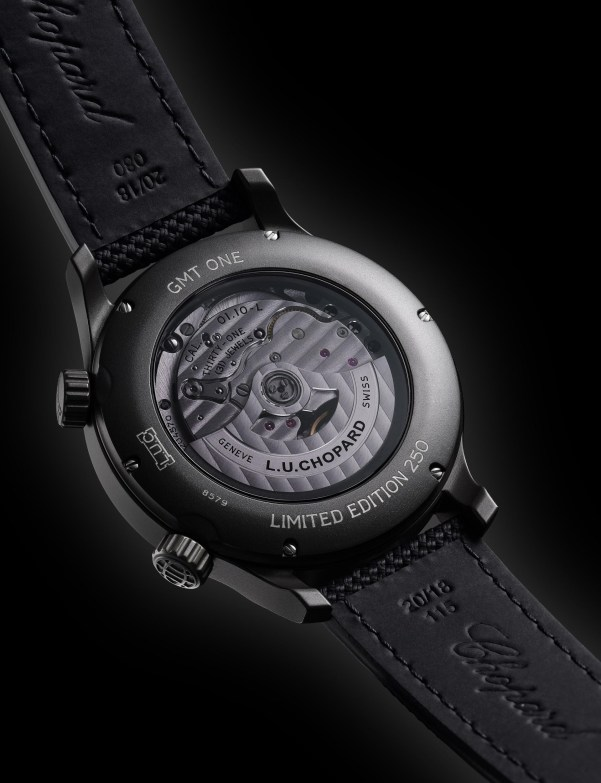 Chopard L.U.C GMT One Black Limited Edition watch