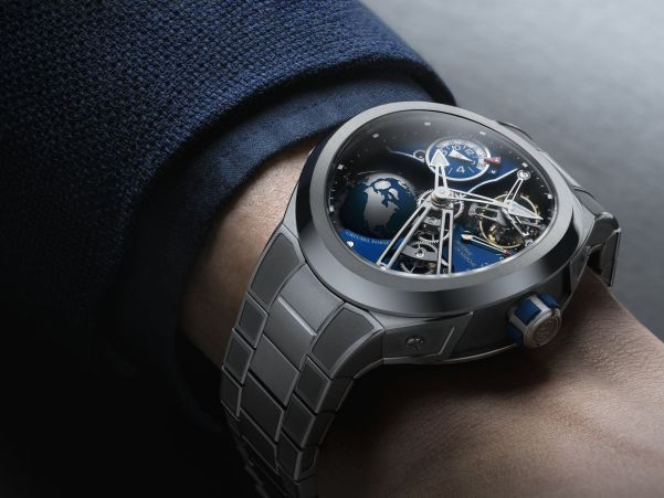 Greubel Forsey New GMT Sport with Integrated Metal Bracelet