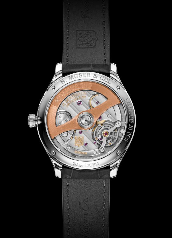 H. Moser & Cie. Endeavour Centre Seconds Concept X seconde/seconde/ Limited Edition