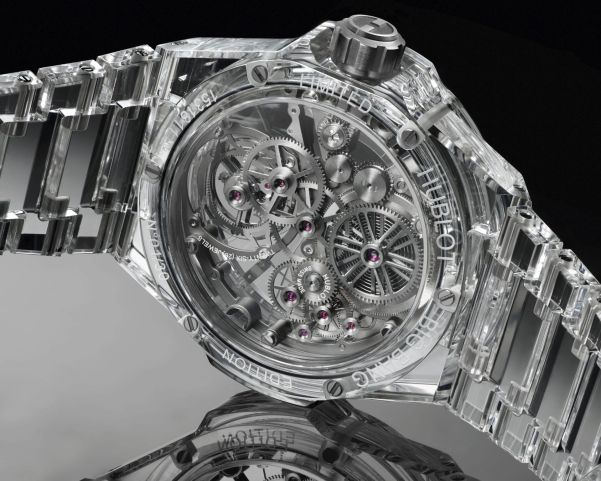 HUBLOT Big Bang Integral Tourbillon Full Sapphire Limited Edition