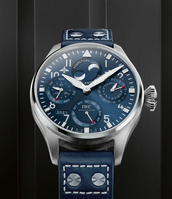IWC Schaffhausen Big Pilot's Watch Perpetual Calendar (Ref. IW503605)