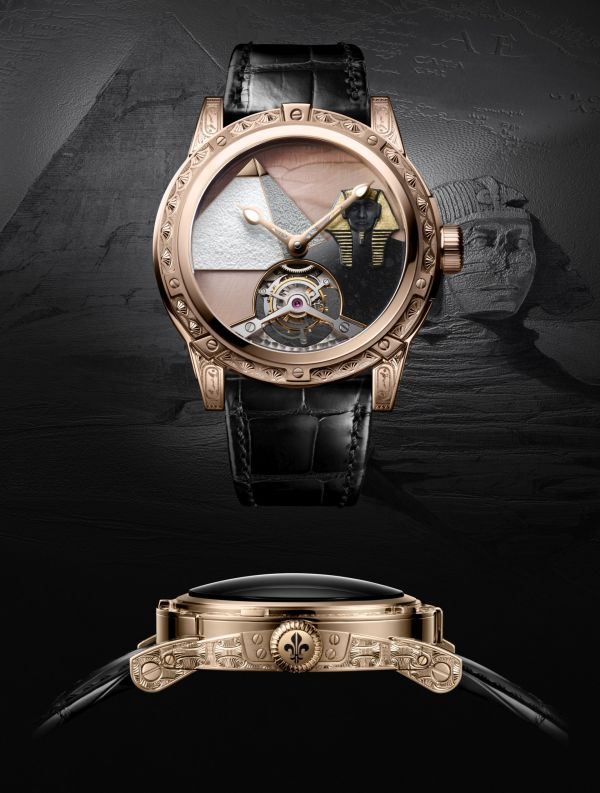Louis Moinet 8 Marvels of the World - Pyramid of Khufu