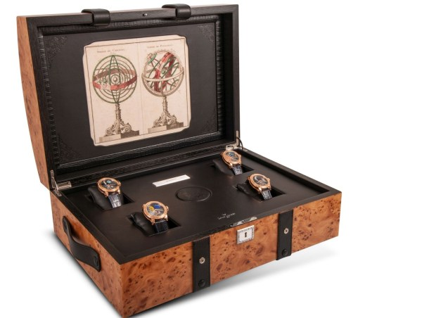 Louis Moinet travel trunk