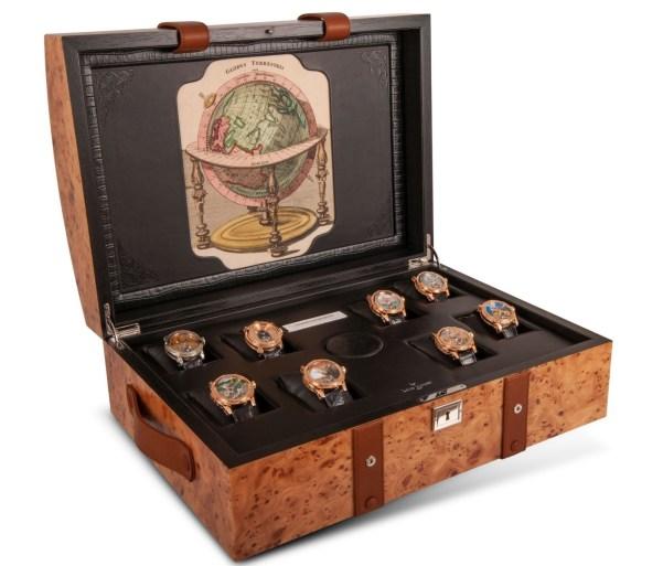 Louis Moinet's travel trunk