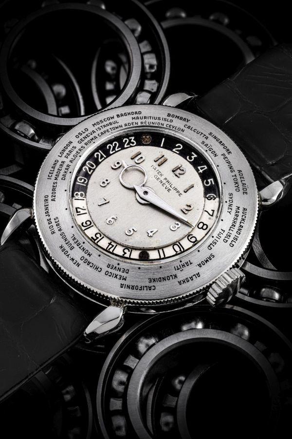 Patek Philippe World Time Platinum Reference 1415 HU
