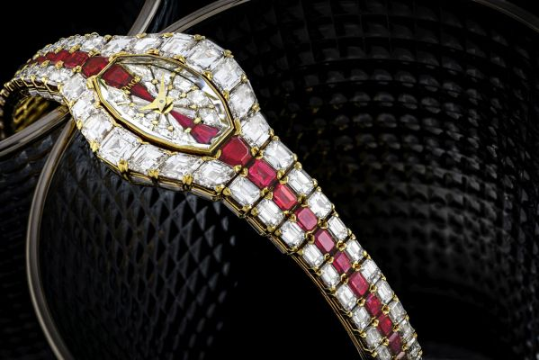 Piaget Aura with diamonds and rubies
