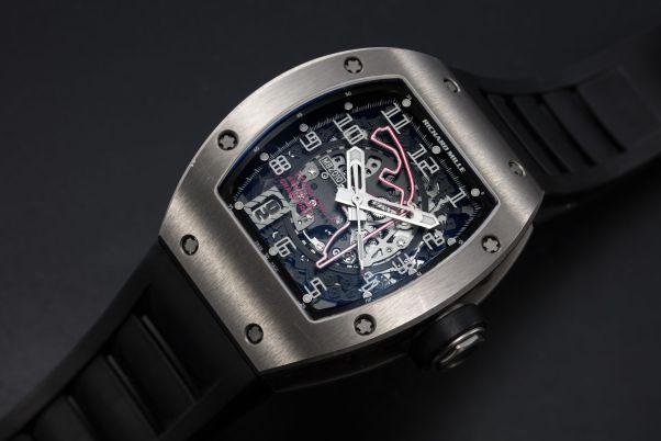 Richard Mille Titanium RM010 to mark 1st Abu Dhabi F1 Grand Prix 2009, MBZ Limited Edition