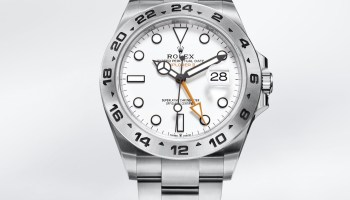 Rolex Oyster Perpetual Explorer II New Reference 226570-0001(with 42mm Oystersteel case and white lacquer dial)