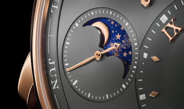 A. Lange & Sohne LANGE 1 Perpetual Calendar watch pink gold model with moonphase display