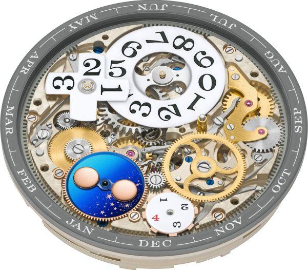 A. Lange & Sohne LANGE 1 Perpetual Calendar watch self-winding movement calibre L021.3