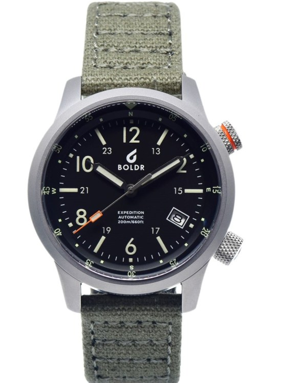 BOLDR Expedition Field Rushmore watch