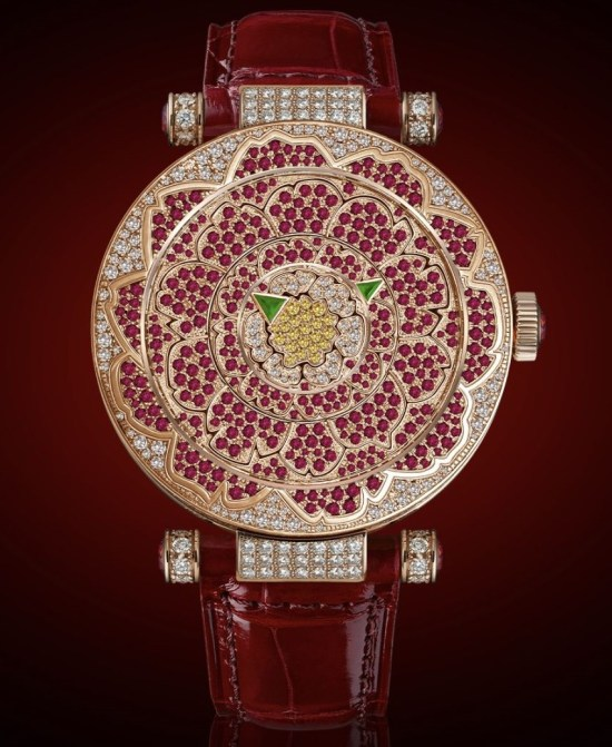 Franck Muller Double Mystery™ Peony, Reference 42 DM PEONY D 2R CD