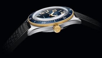 Glashütte Original SeaQ Bicolor automatic watch with 200 metes depth rating