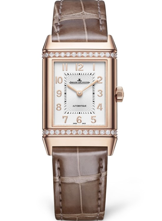 Jaeger-LeCoultre Reverso Duetto Medium with with pink gold case
