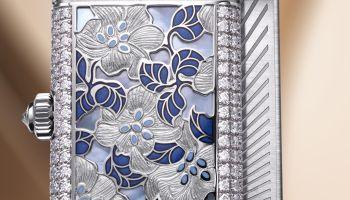 Jaeger-LeCoultre Reverso One Precious Flowers, Rare Handcrafts (Métiers Rares) Collection
