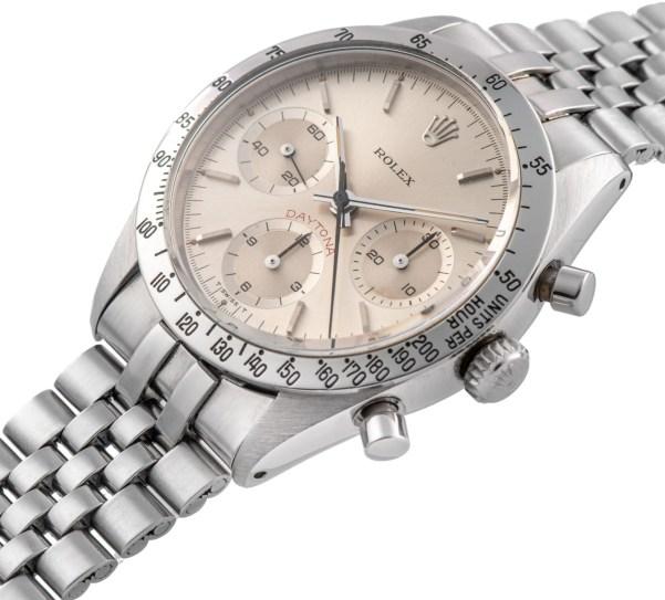 Rolex Ref. 6239, Cosmograph Daytona, Albino Big Red Dial. Estimate: CHF 700,000 - 1,200,000/ HKD 5,600,000 - 9,600,000/ USD 700,000 - 1,200,000.