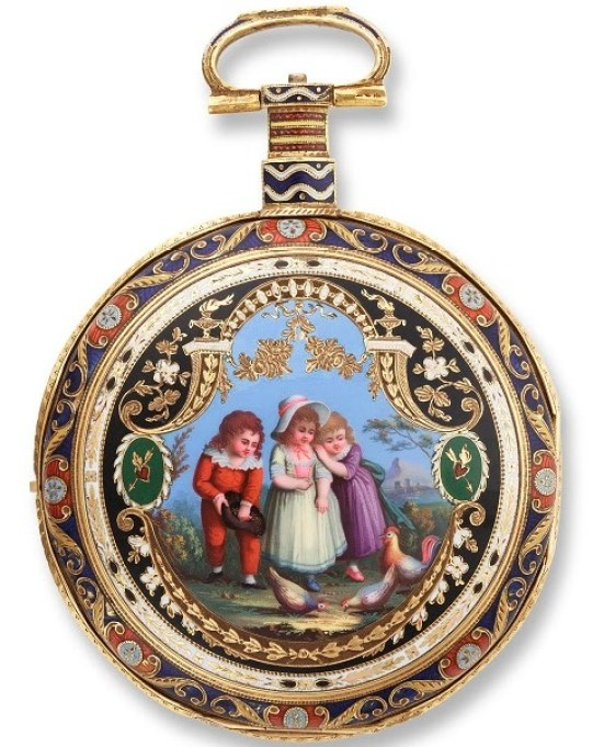 William Ilbery of London Pocket watch
