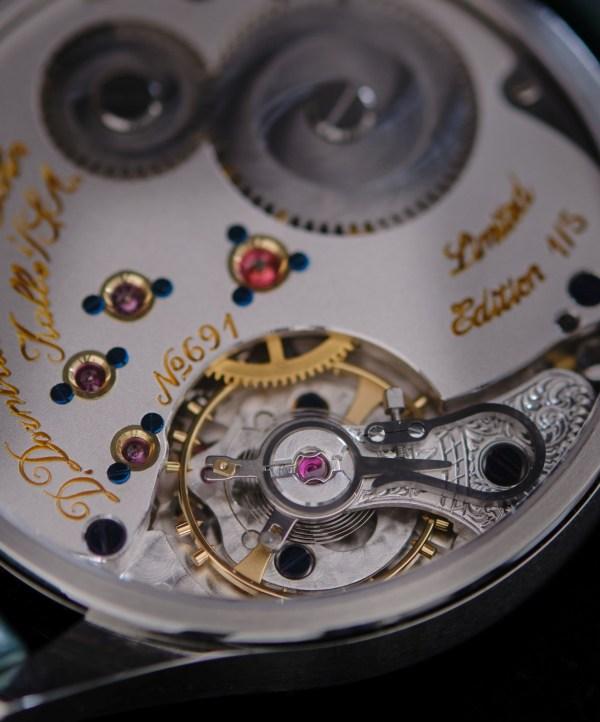 D. Dornblüth & Sohn 99.1M Gruene – About Timepieces Exclusive Release