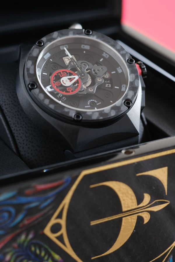 Franck Dubarry Crazy Wheel CW-04-07 – About Timepieces Exclusive Edition