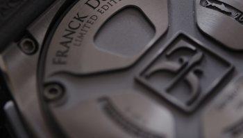 Franck Dubarry watch case back