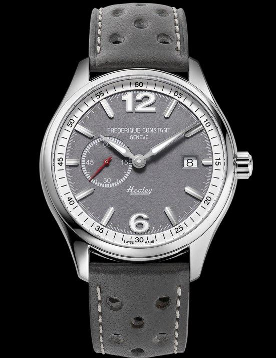 Frederique Constant Vintage Rally Healey Automatic Small Seconds with grey dial