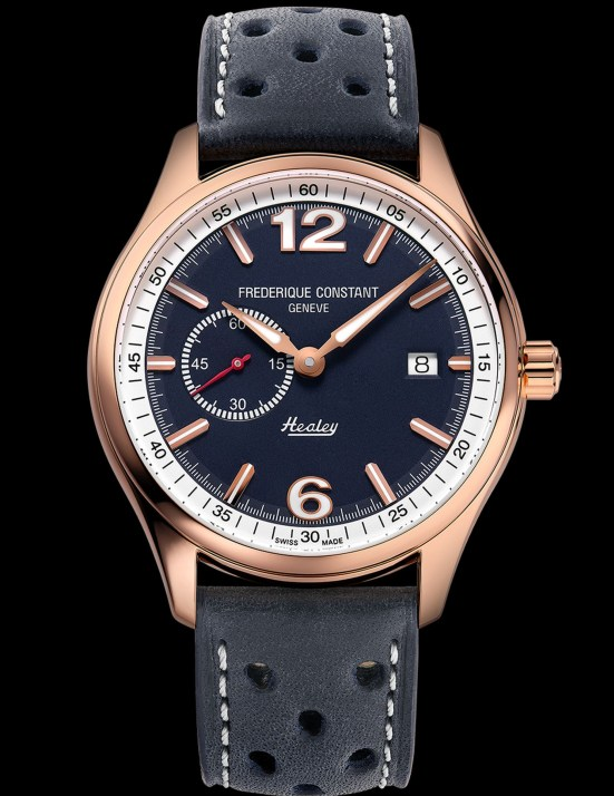 Frederique Constant Vintage Rally Healey Automatic Small Seconds with blue dial