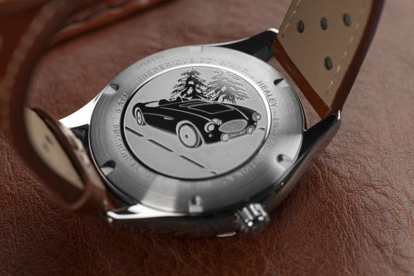 Frederique Constant Vintage Rally Healey Automatic Small Seconds watch caseback view