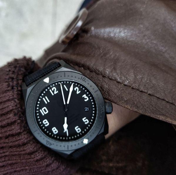 Redux & Co. Titanium Pilot-Diver Mission Watches