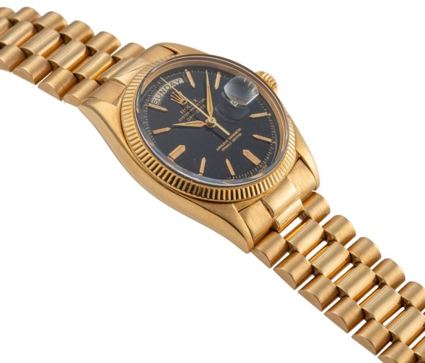 LOT 403: Rolex, Ref. 6611, Day-Date, Yellow Gold