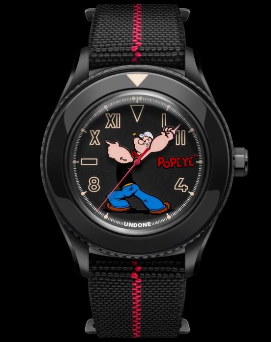 "UNDONE x Popeye ""The Sailorman"" watch"