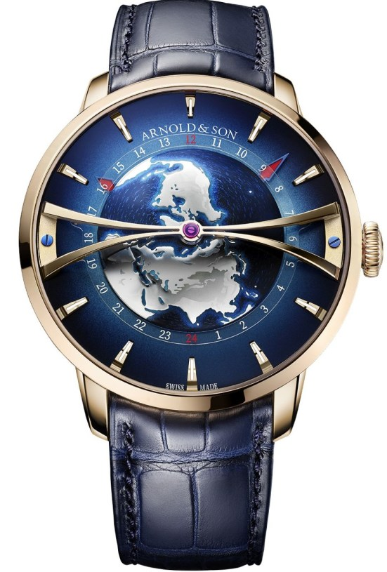 Arnold & Son Globetrotter Gold Limited Edition