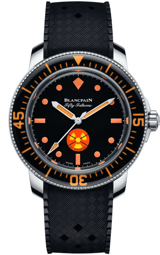 Blancpain Tribute to Fifty Fathoms No Rad Unique Piece for Only Watch May 2021