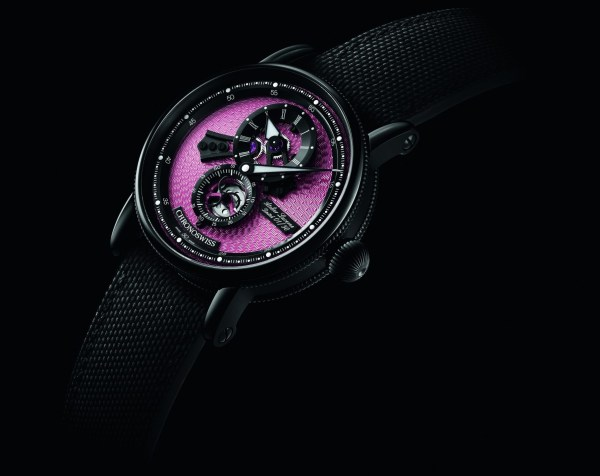 Chronoswiss Flying Regulator Open Gear Pink Panther Limited Edition watch