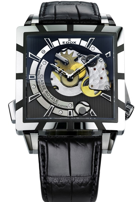 EDOX Classe Royal 5 Minute Repeater watch