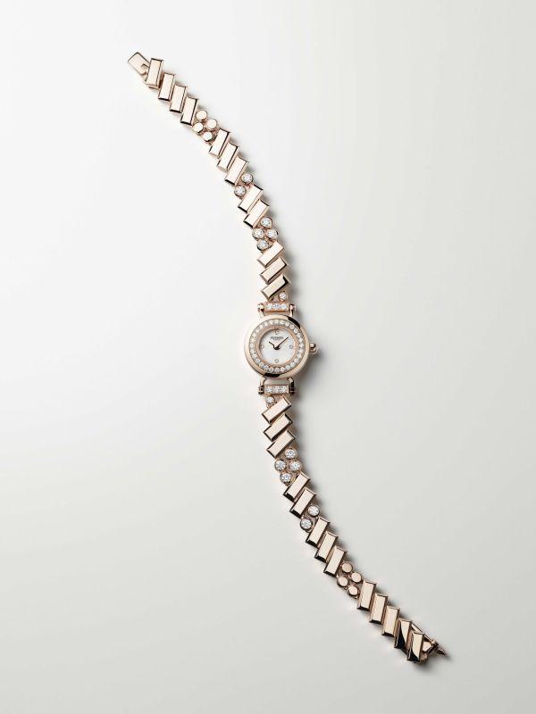 Hermès Faubourg Polka Watch rose gold