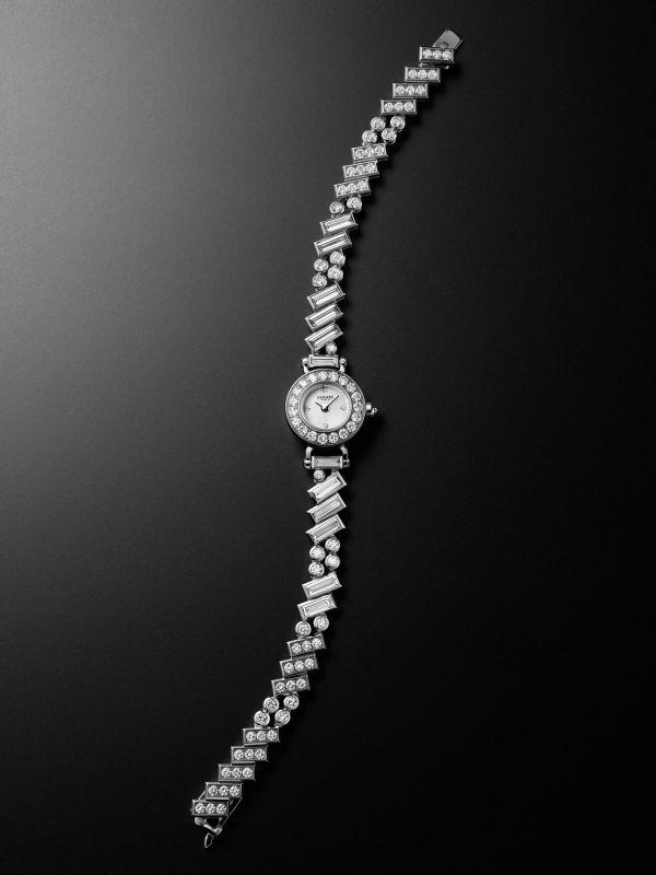 Hermès Faubourg Polka Watch white gold