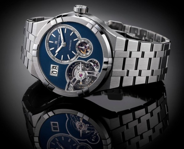 Maurice Lacroix Aikon Master Grand Date automatic watch with stainless steel bracelet