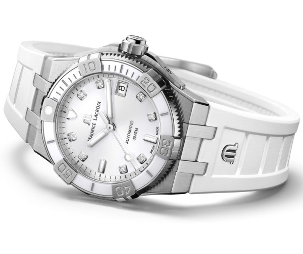Maurice Lacroix Aikon Venturer 38mm (with white dial) automatic watch