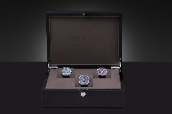 Parmigiani Fleurier Tonda Hijri Perpetual Calendar Diamonds, Rubies, Emeralds
