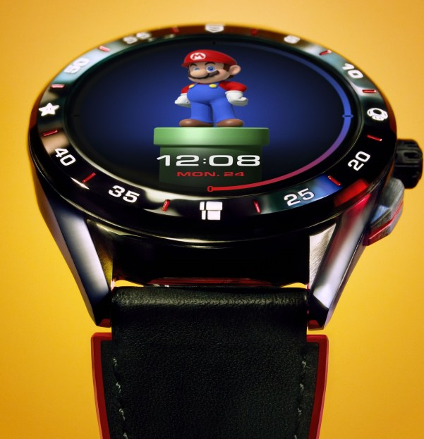 TAG Heuer Connected x Super Mario Limited Edition watch
