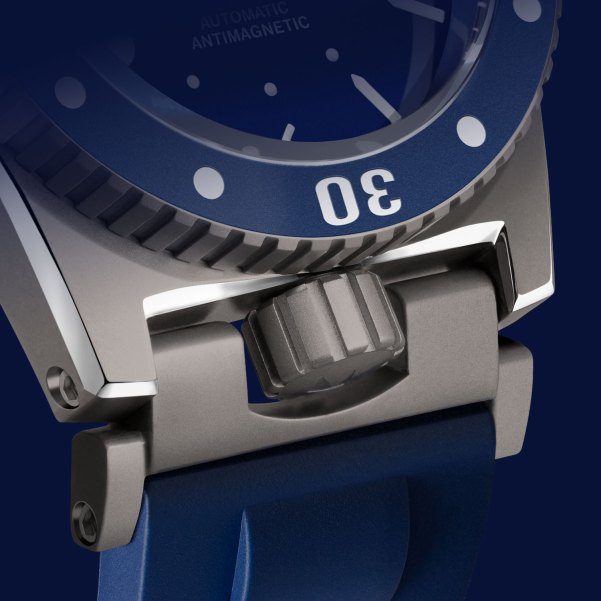 ZRC GRANDS FONDS 3000 watch with Crown Protection System