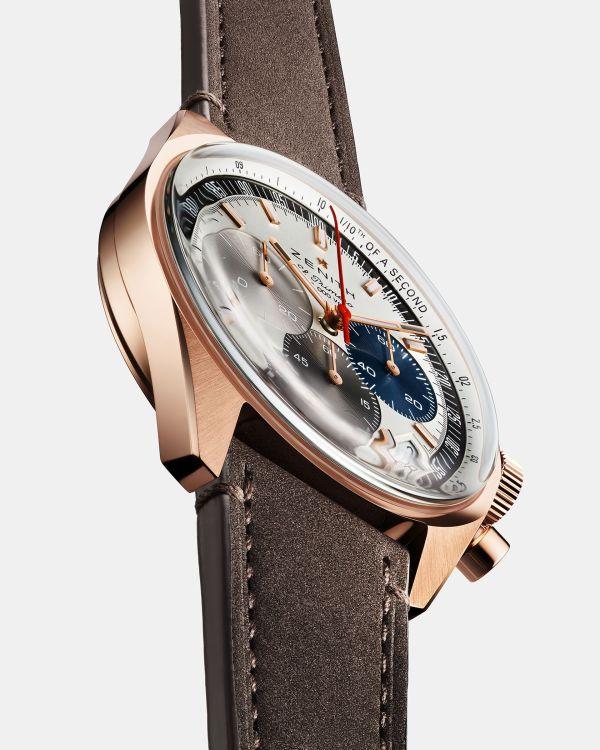 Zenith Chronomaster Original rose gold chronograph