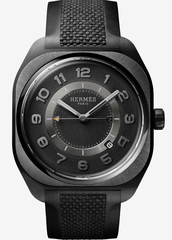 Hermès H08 watch with graphene-filled composite case
