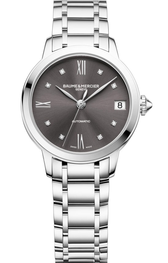 Baume & Mercier Classima, reference 10610 New Model with Slate Gray Dial 31mm