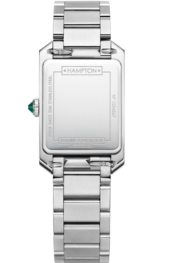 Baume & Mercier Hampton 10631 watch case back